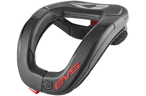 EVS Sports R4 Black Race Collar for Adult
