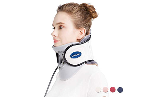 Adjustable Neck Stretcher Collar for Home Traction Spine Alignment