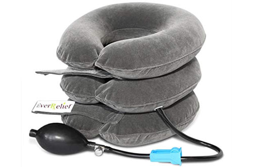 EverRelief Inflatable & Adjustable Cervical Neck Traction Device