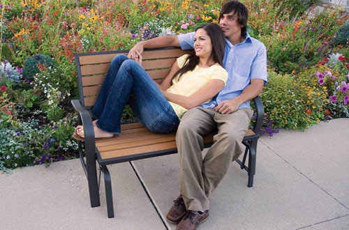 Outdoor Glider Benches