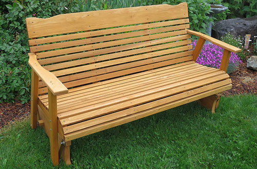 Admirable Top 10 Best Outdoor Glider Benches Reviews In 2019 Customarchery Wood Chair Design Ideas Customarcherynet