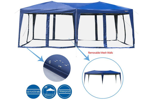 VINGLI Pop Up Canopy Tent - Anti-Mosquito Camping Screen Houses