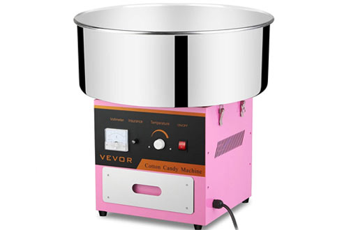 VEVOR Candy Floss Maker & Cotton Candy Machine for Various Parties