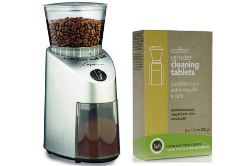 Capresso Infinity Conical Burr Coffee Grinder Kit