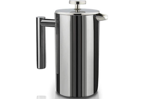 SterlingProDouble-Wall Stainless SteelFrench Press Coffee Maker