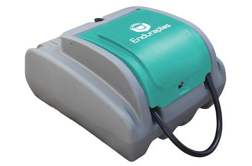 EnduraPlas Diesel Fuel Poly Transfer Tank with 12 Volt Pump