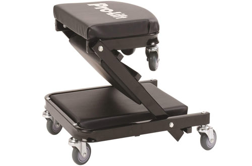 "Pro-LifT C-9100 Black 40"" Foldable Z Creeper"