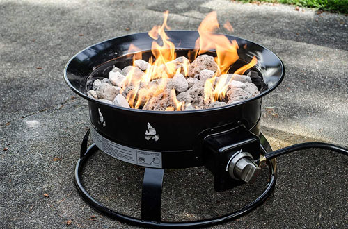 Outdoor Portable Propane Fire Pit