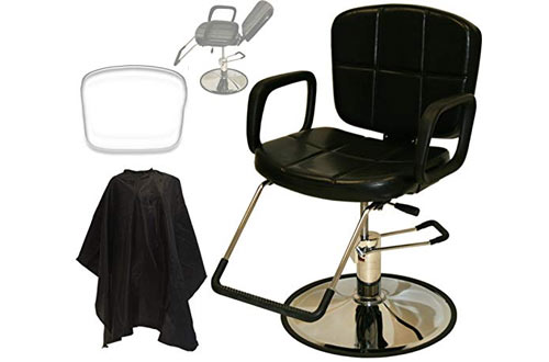 LCL Beauty Reclining Cutting and Shampoo Barber Salon Chair