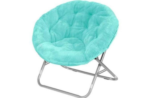 Mainstay WK656338 Wind Aqua Kids' Saucer Chair