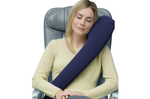 Travelrest Ultimate Travel Neck Pillow-Ergonomic, Patented & Best Adjustable for Airplane