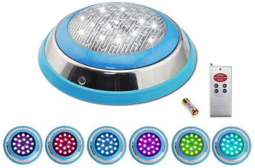 COOLWEST LED RGB Underwater Swimming Pool Light