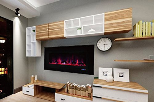 Recessed Wall Electric Fireplace