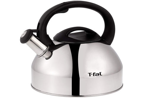 T-fal C76220 Stainless Steel Whistling Coffee and Tea Kettle
