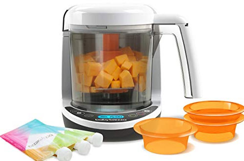 Baby Brezza Small Baby Food Maker Set – Cooker and Blender
