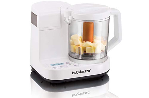 Brezza Glass Baby Food Maker – Cooker and Blender