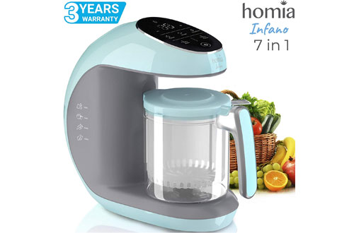 Homia Baby Food Maker & Chopper Grinder - Mills and Steamer