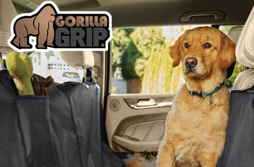 Gorilla Grip Durable Slip-Resistant Dog Car Seat Protector