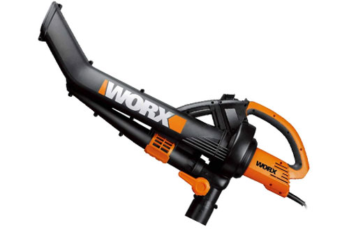 Worx Trivac Blower and Mulcher with Leaf Pro