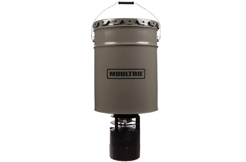 Moultrie 6.5-Gallon Pro Hunter Hanging Deer Feeder - 40 lb. Capacity