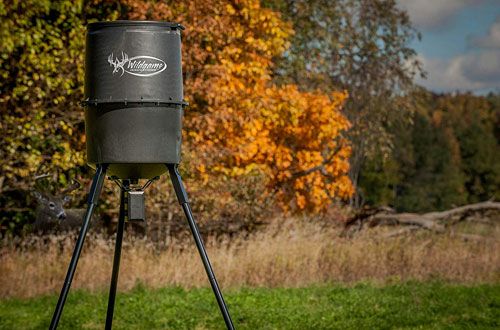 Wildgame Innovations W225D Tri-Pod Digital Deer Feeder - 30-Gals