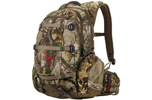 Badlands Superday Camouflage Bow Hunting Backpack with Rifle and Pistol - Realtree Xtra