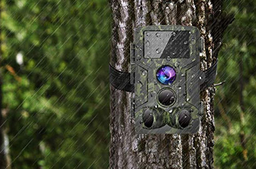 Waterproof Scouting Moultrie Trail Camera 12MP 1080P – VICTONYUS
