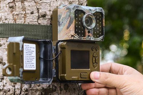 Professional 1080P 16MP Wildlife Hunting Game Trail Camera By Kuool