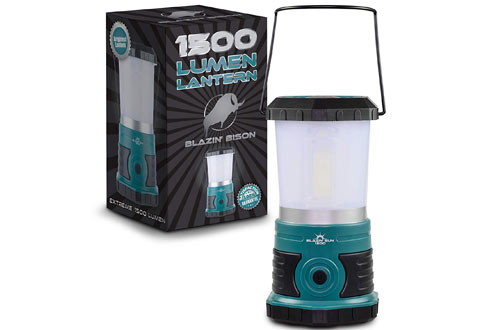 Blazin' Sun 1500 Lumen Battery Operated Led Lanterns