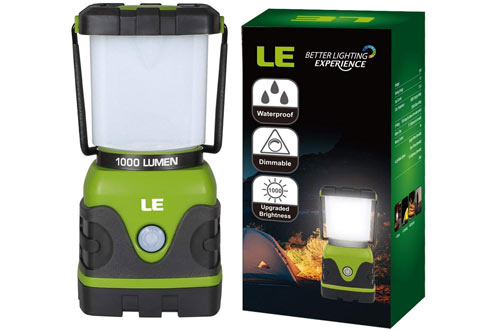 LE Portable LED Camping Lantern with 1000 Lumens