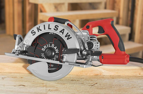 SKILSAW SPT77WML-01 15-Amp Lightweight Worm Drive Circular Saw