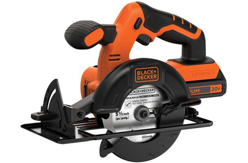 BLACK and DECKER BDCCS20C 20V Max Cordless Circular Saw