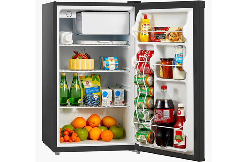 Midea WHS-160RB1 Small Reversible Door Refrigerator - Freezer 4.4 Cubic Feet