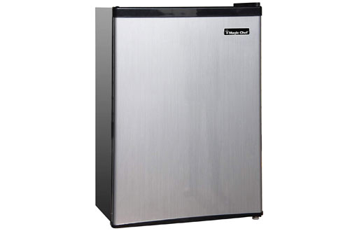Magic Chef MCBR240S1 Stainless Steel Refrigerator