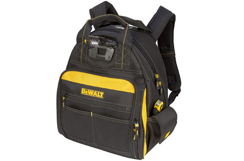 DEWALT DGL523 Lighted Backpack Tool Bag