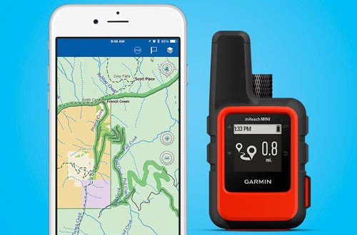 Garmin inReach Lightweight and Compact Handheld Mini GPS Device