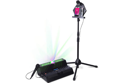 Singsation Mainstage All-In-One Premium Karaoke Machine with Microphones and Sound System