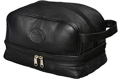 Bayfield Bags Mens Toiletry Bag for Accessories and Body Shavers