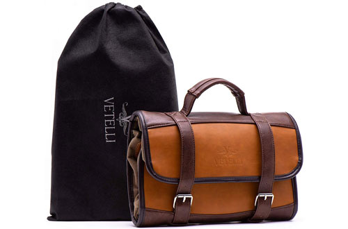 Vetelli Hanging Toiletry Travel Bag for Men