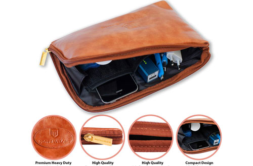 Protravelone Men's Cosmetic Toiletry Bag - Mens Toiletry Travel Bag
