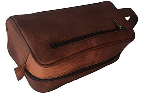 Vintage Crafts Travel Handmade Toiletry Bag for Men & Women