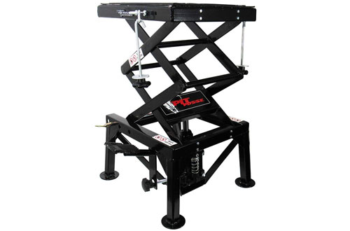 Pit Posse Motorcycle ATV Scissor Floor Jack Lift Table Stand