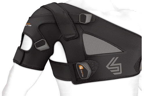Shock Doctor Shoulder Support Brace forAC Sprains, Rotator Cuff Injuries & Moderate Separations
