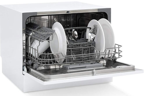 Best  Small Space Kitchen Countertop Portable Dishwasher