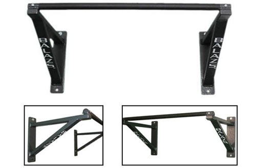 Balazs Boxing Balazs 18-Inch Nonadjustable Wall-Mounted Pull-Up Bar