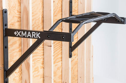 Multi-Grip Wall-Mounted Chin-Up Pull-Up, XMark Commercial XM-9025