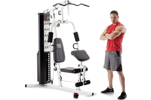 Marcy 150-lb Multifunctional Home Gym Station for Body Solid Training