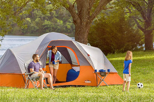 CORE 9-Person Extended Dome Camping Tent