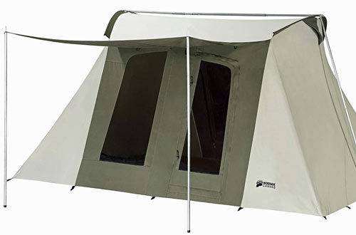 Kodiak Canvas Flex-Bow Deluxe 8-Person Tent for Camping