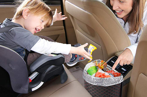KNGUVTH Portable Auto Garbage Bags for Car